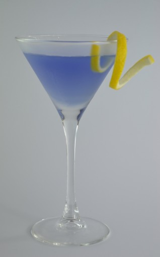 Aviation Cocktail visual recipe by Cocktail Hunter