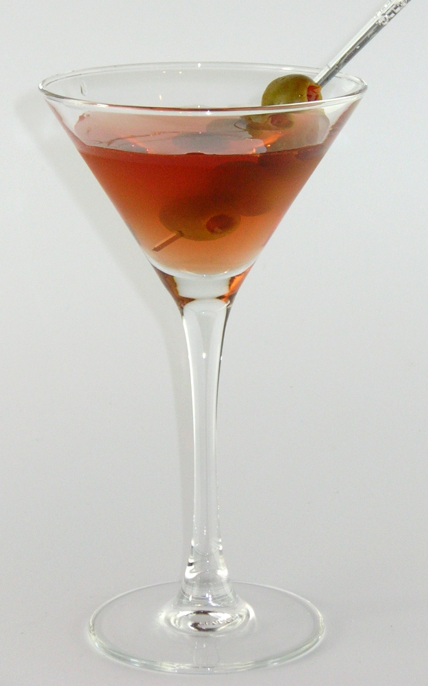 Perfect Gin Martini visual recipe by Cocktail Hunter