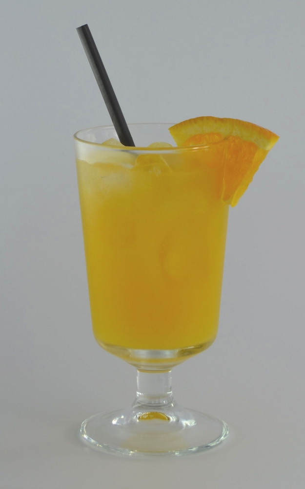 Harvey Wallbanger visual recipe by Cocktail Hunter