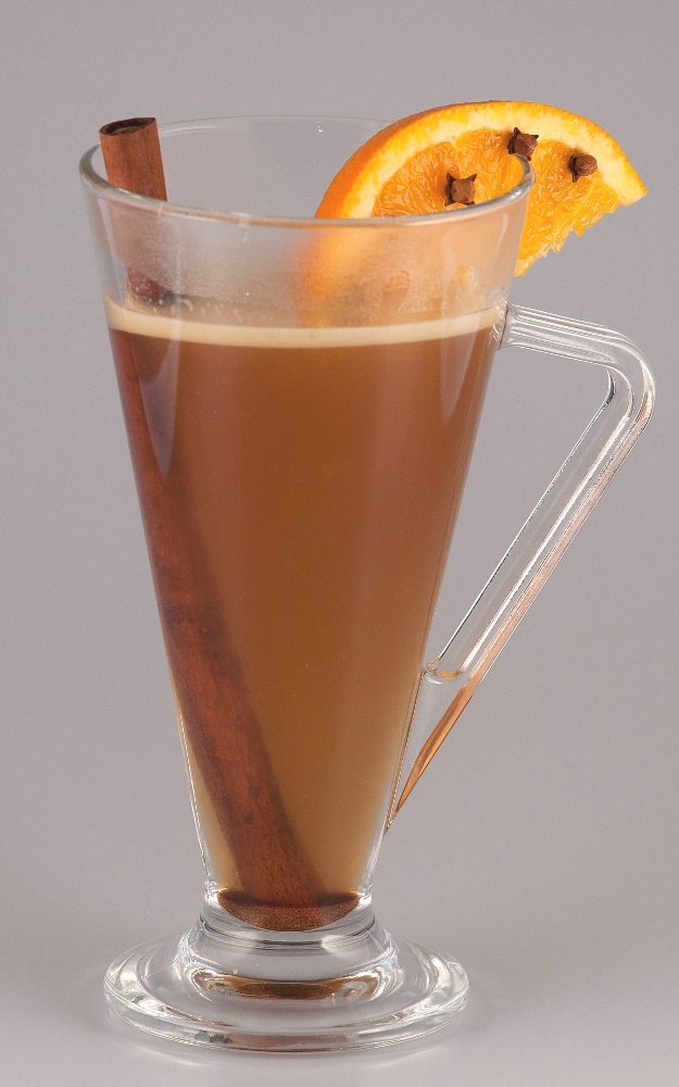 Hot Buttered Rum visual recipe by Cocktail Hunter