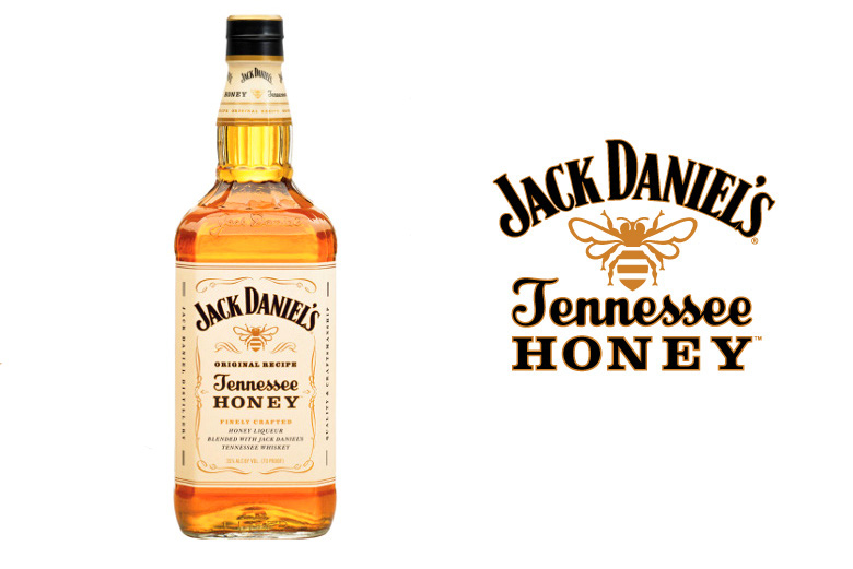 Jack Daniel   s Tennessee Honey Whiskey LiqueurJack Daniels Honey Whiskey Label