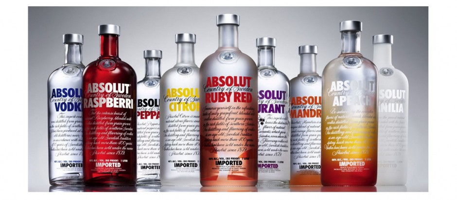 Absolut vodka - cocktail hunter