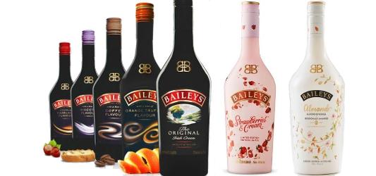 Baileys irish cream flavours