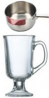 pour cafe brulot