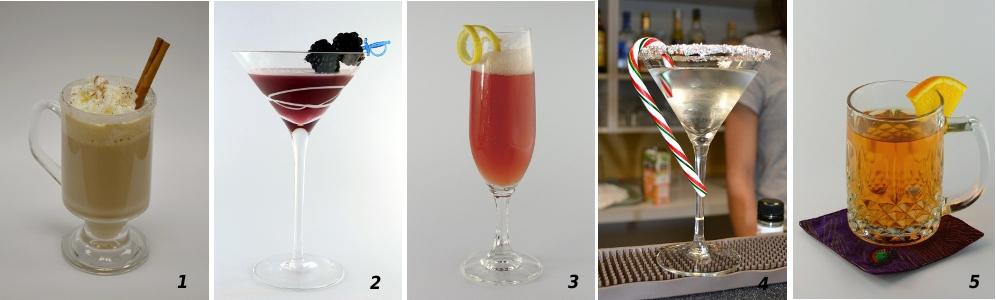 Holiday Cocktails blog