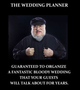 The Wedding Planner Game of Thrones