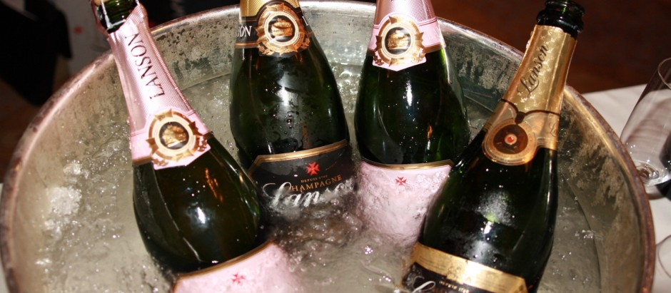 Lanson Champagne - cocktail Hunter