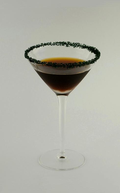 Black Lace Martini cocktail