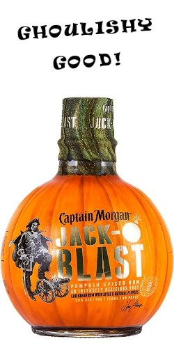 captain morgan jack-o-lantern spiced rum